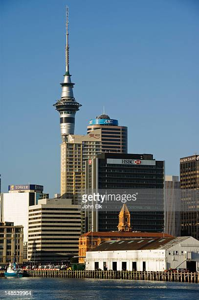 City from Auckland Bay.