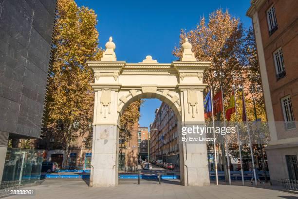 City Gate in Daoiz & Velarde Square