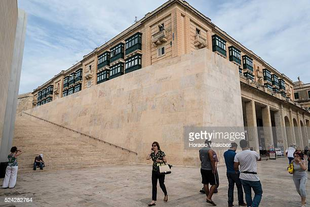City Gate in Valletta Malta 20 October 2015 Tourism is a major component of the Maltese economy More tan one million tourists visit Malta per year...