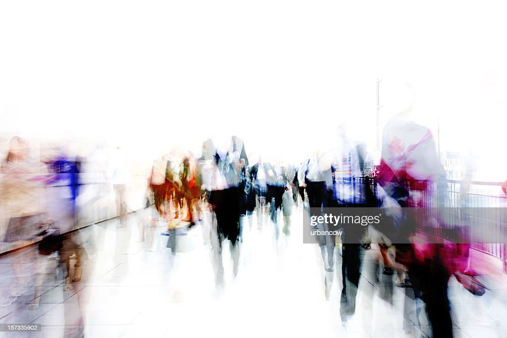 City ghosts : Stock Photo