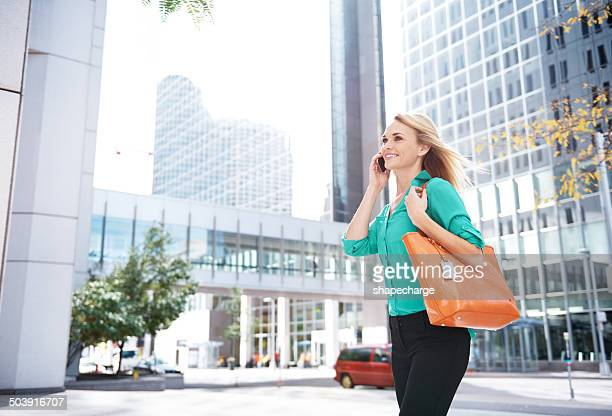 City girl in her natural surroundings