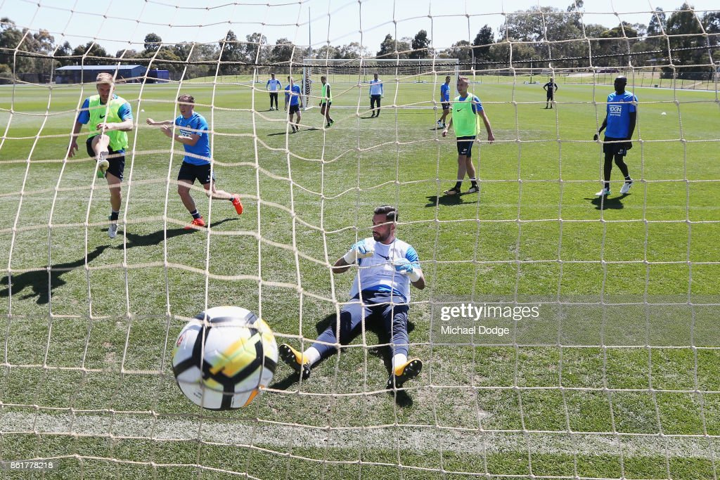 Melbourne City Training Session