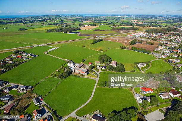 City growing into farmland