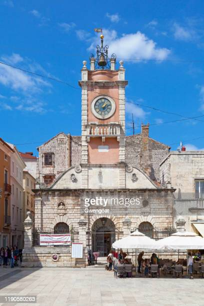 city guard in zadar - gwengoat stock pictures, royalty-free photos & images