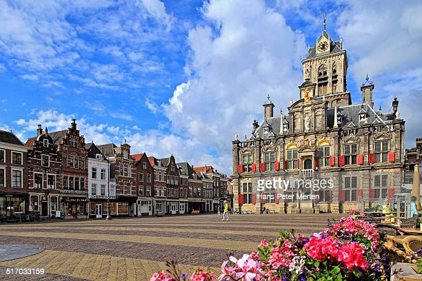 City Hall at Market Square, Delft, Netherlands