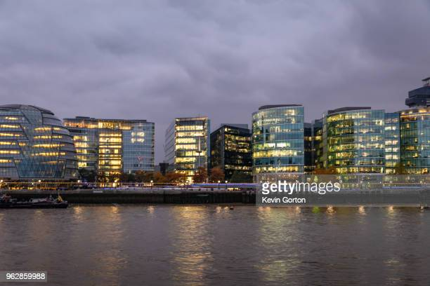 City Hall at night - London
