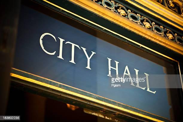 City Hall at the civic center, San Francisco, California, USA
