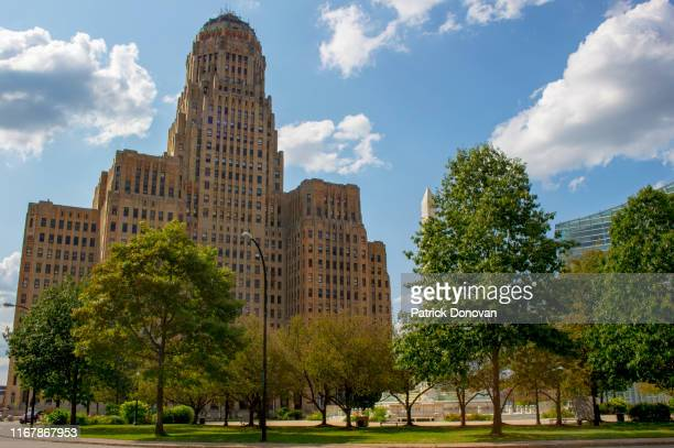 city hall, buffalo, new york - buffalo new york state stock pictures, royalty-free photos & images