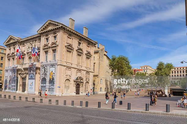 hotel de ville - marseille - pjphoto69 stock pictures, royalty-free photos & images