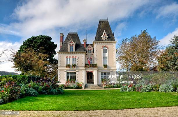 city hall of cancale - victorian style stock pictures, royalty-free photos & images