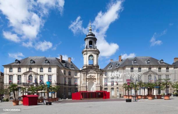 City hall of Rennes