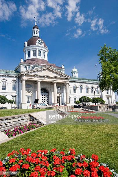 city hall - kingston ontario stock photos and pictures