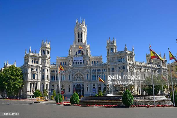 City Hall Plaza Cibeles Madrid Spain