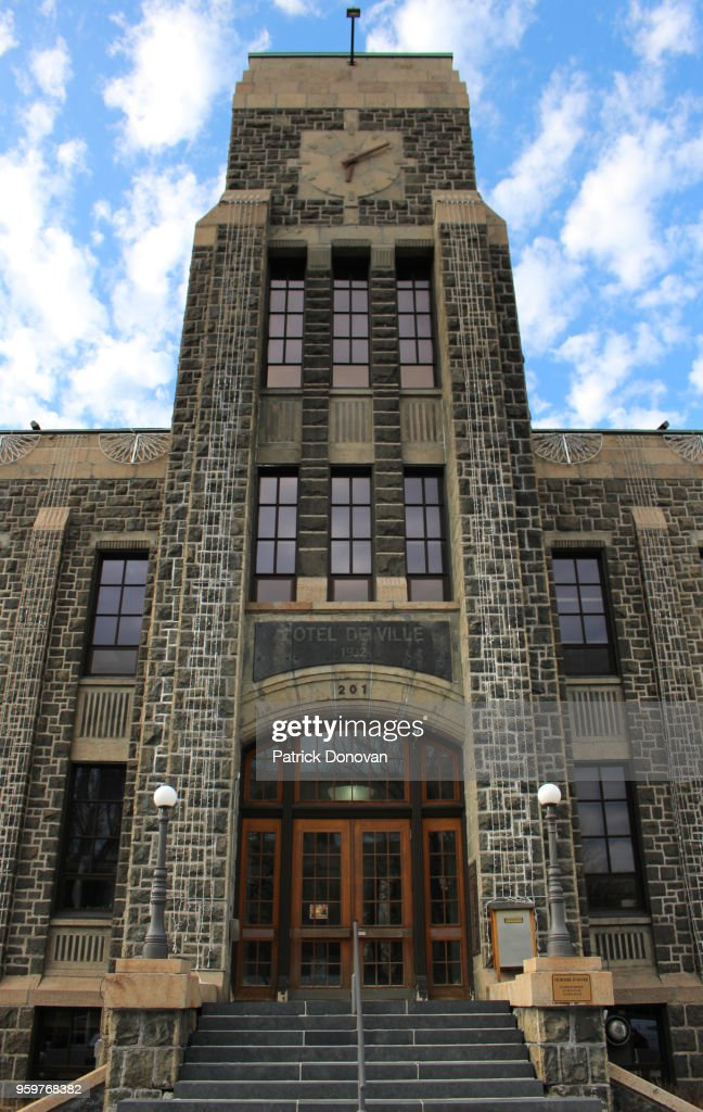 City Hall, Saguenay, Quebec, Canada : Stock-Foto
