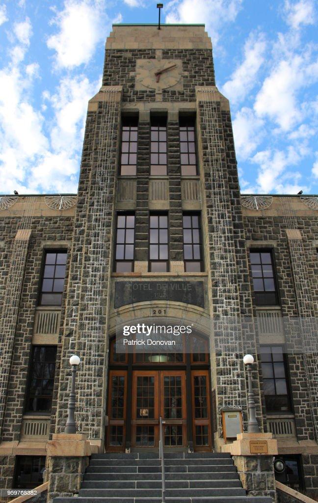 City Hall, Saguenay, Quebec, Canada : Stock Photo