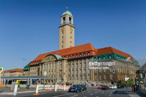 City hall Spandau, Carl apron street, Spandau, Berlin, Germany, Rathaus Spandau, Carl-Schurz-Strasse, Germany.