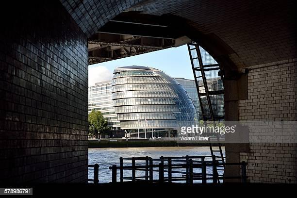 City Hall under Tower Bridge