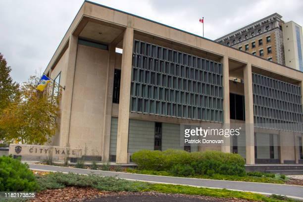city hall, winnipeg, manitoba - winnipeg stock pictures, royalty-free photos & images