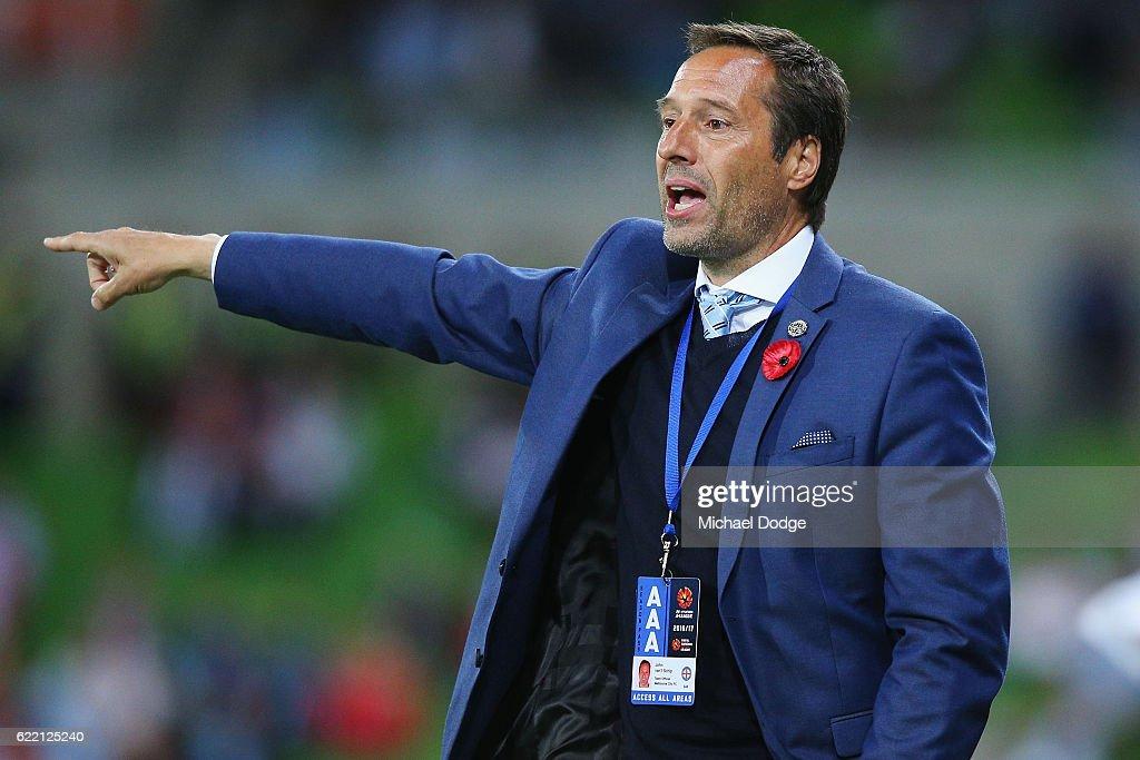 A-League Rd 6 - Melbourne City v Newcastle : News Photo