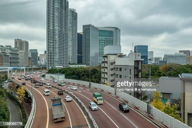 city highway in tokyo of japan - taro hama ストックフォトと画像