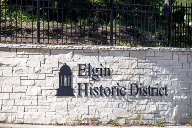City Historic District Entrance