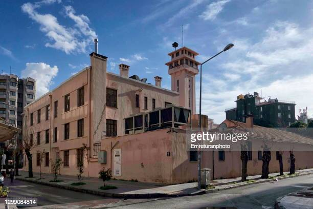 city history museum building on a sunny day , izmir. - emreturanphoto stock pictures, royalty-free photos & images