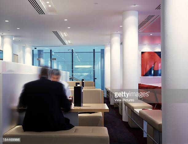 City Inn Hotel, London, United Kingdom, Architect Bennetts Associates, City Inn Hotel Eating Area Within Bar