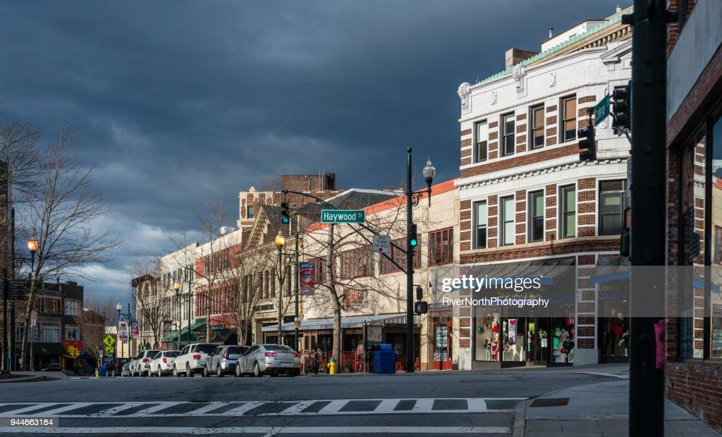 City Life, Asheville, North Carolina : Stock Photo