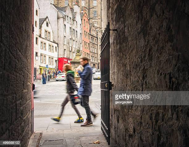 City Life in Edinburgh's Old Town