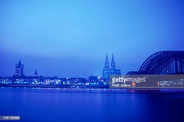 City lights, Cologne, Germany