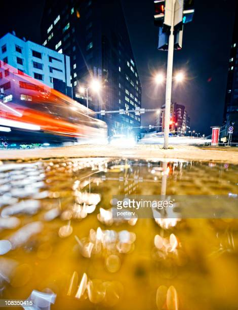 city lights - generic location stock pictures, royalty-free photos & images