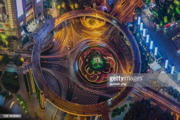 city lights - shanghai tower shanghai stock pictures, royalty-free photos & images