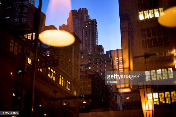 city lights - borough district type stock pictures, royalty-free photos & images