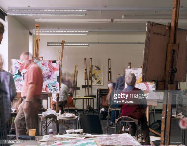 City Lit Further Education, London, United Kingdom, Architect Allies And Morrison City Lit Art Studio