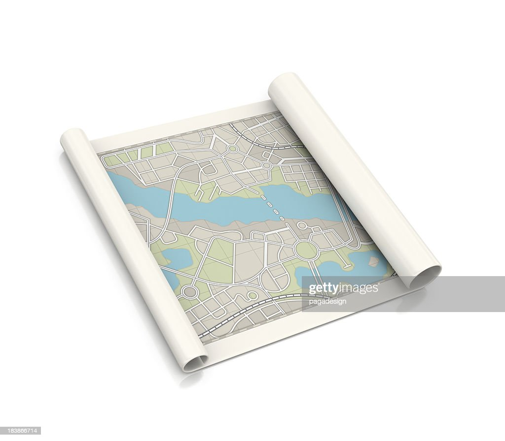 city map : Stock Photo