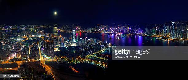city moon light - william moon stock pictures, royalty-free photos & images