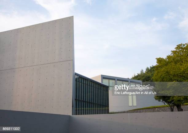 City museum of literature designed by Tadao Ando, Hypgo Prefecture, Himeji, Japan on August 20, 2017 in Himeji, Japan.