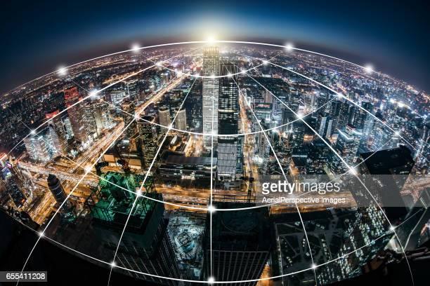 City Network of Beijing, China