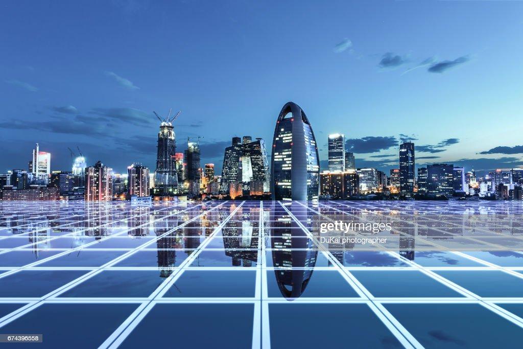 City Network : Foto de stock