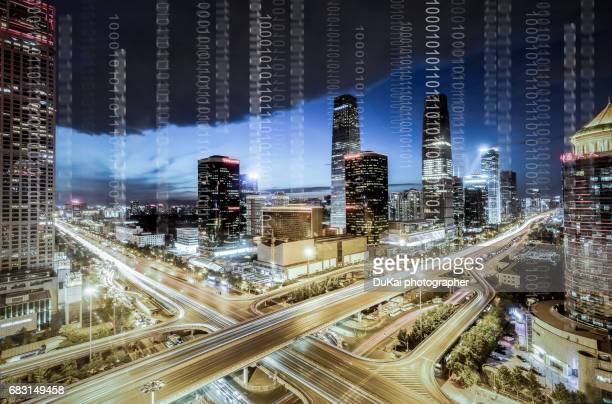 city network - prosperity stock photos and pictures