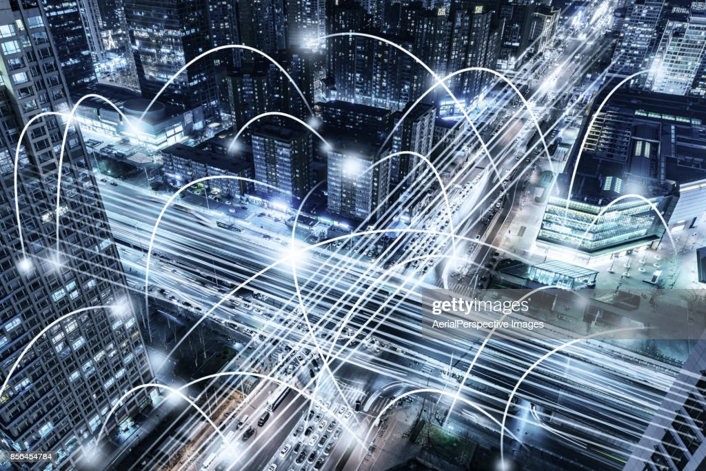 City Network : Stock Photo