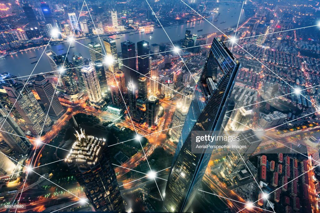 City Network : Stock Photo