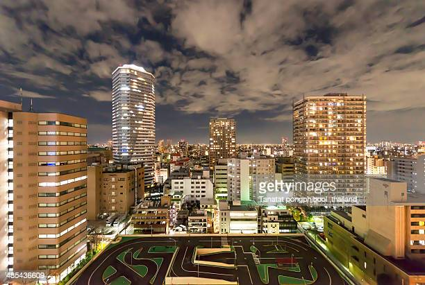 City Night in Japan
