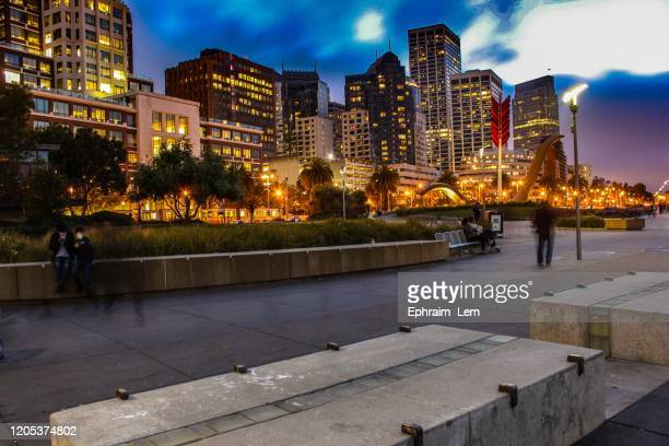 city nights - ephraim lem stock pictures, royalty-free photos & images