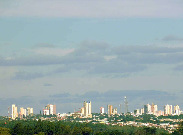 City of ARAPONGAS - general view - Brazil