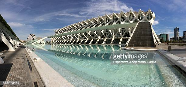 City of Arts and Sciences of Valencia Spain