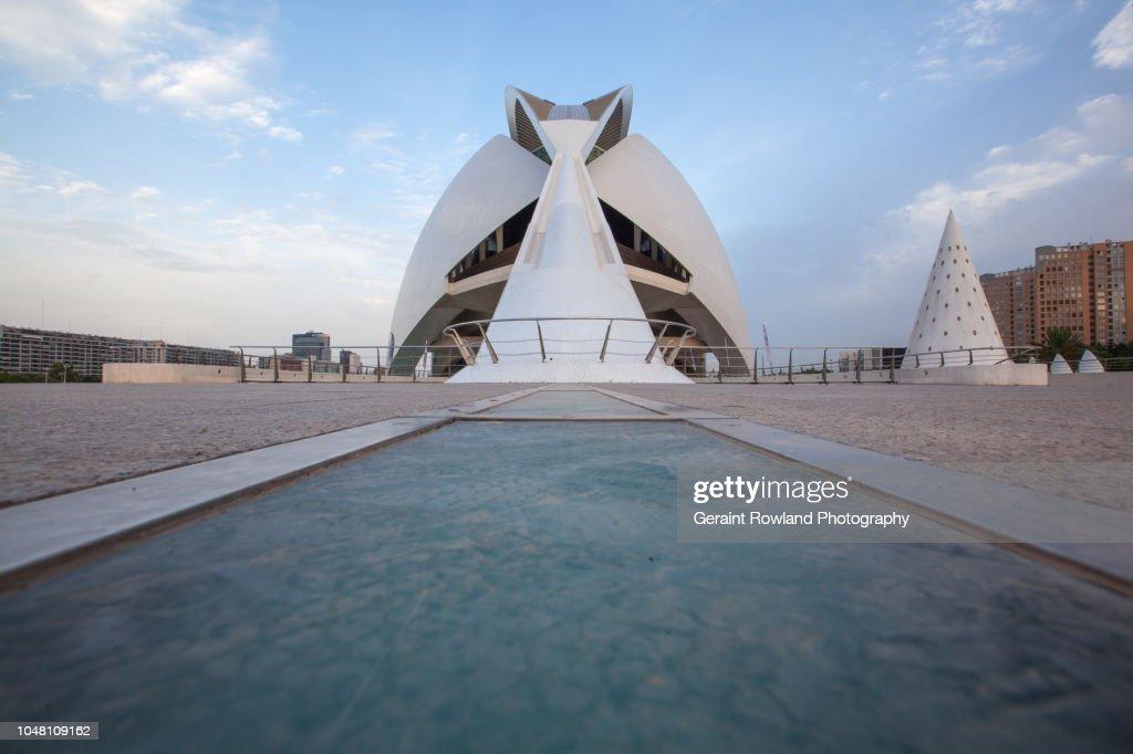 City of Arts and Sciences, Valencia : Stock Photo