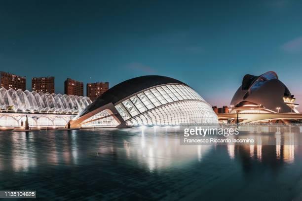 city of arts and sciences, valencia - francesco riccardo iacomino spain foto e immagini stock