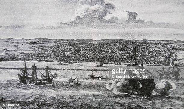 City of Bantam in Java Owned by the Dutch East India Company in South East Asia in 1750