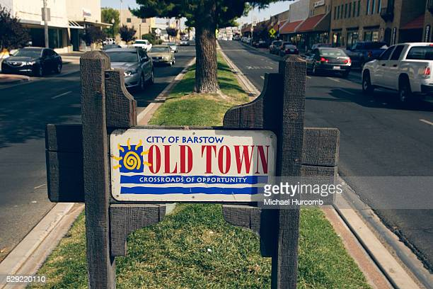City of Barstow sign on Route 66